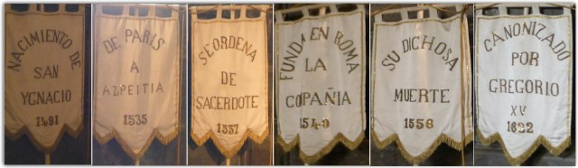 Acontecimientos en la vida de San Ignacio de Loyola.