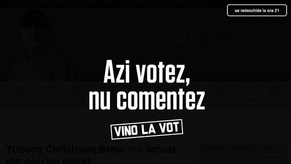 anamariapopa.com blog post iesim la vot votare turul 2 romania alegeri prezidentiale campanie manafu leo burnett