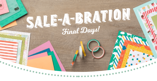 Sale-A-Bration Final Days