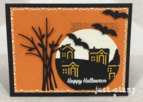 Just Stamp | Stampin Up! Home for Halloween Zoom