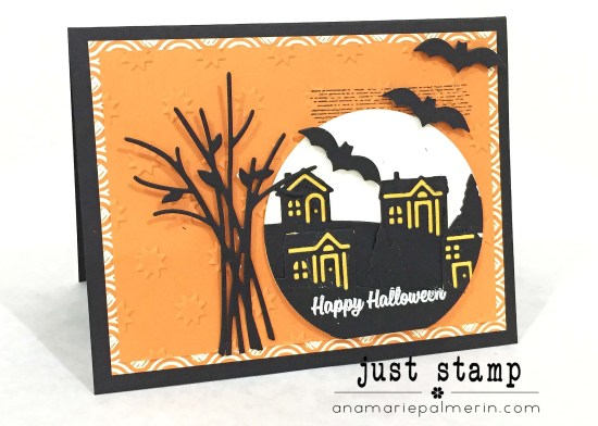 Just Stamp | Home for Halloween