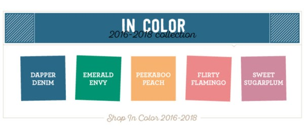 Stampin Up! 2016-18 In Colors