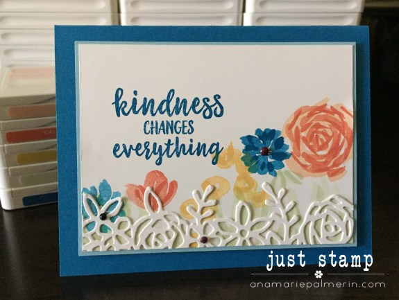 Stampin' Up! | Just Stamp | Abstract Impressions Kindness