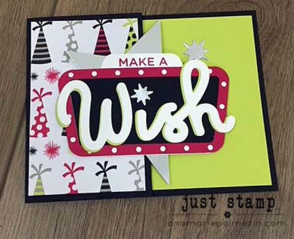 Stampin' Up! | Broadway Bound Birthday Gift CardHolder