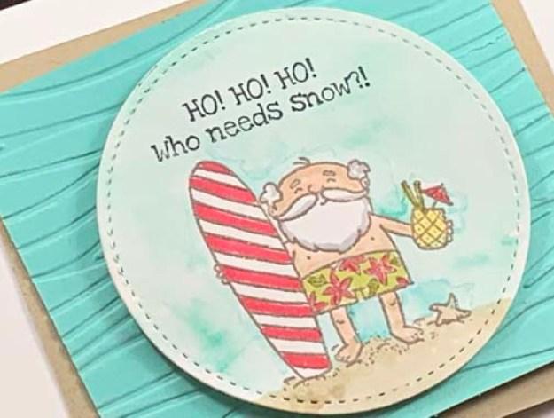 Just Stamp | So Santa Surfer Zoom