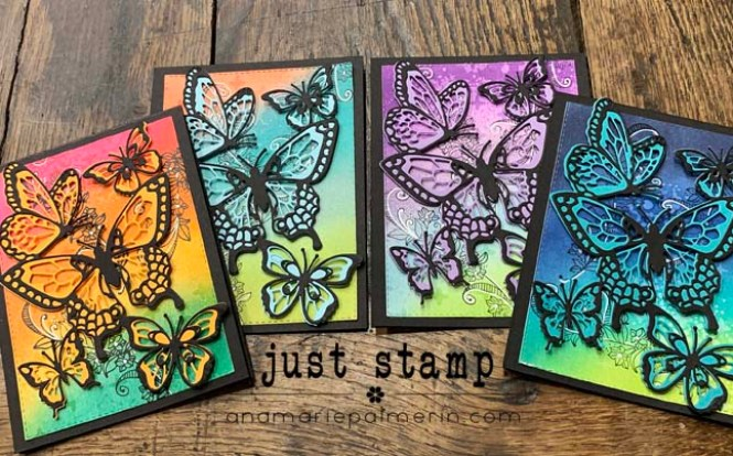 Just Stamp | Beauty Abounds w:3-Step Background