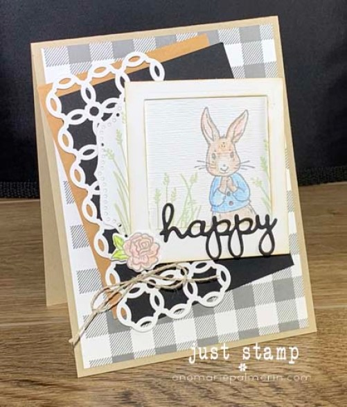 Stampin' Up! Fable Friends Farmhouse Design Card by Just Stamp