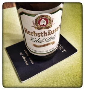 Passport Beer Coaster.