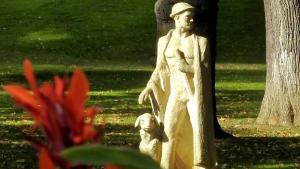 Franz Gehring Statue