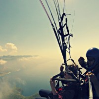 HOW I SURVIVED PARAGLIDING