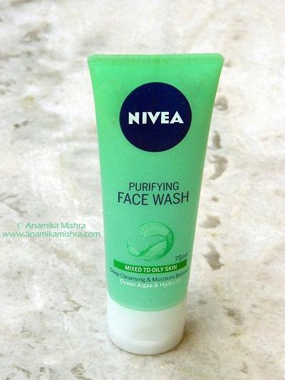 Nivea Purifying Facewash Review