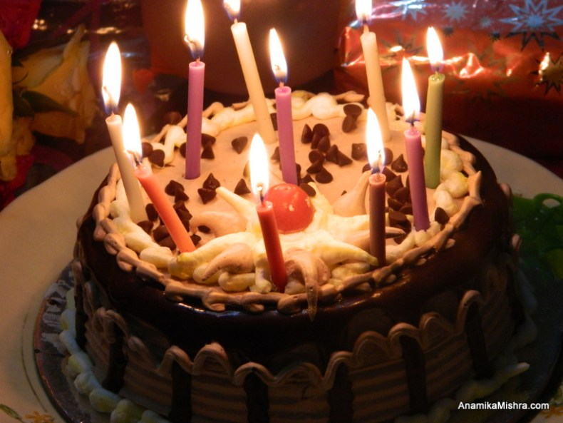 Easy Way To Plan A Mid Night Birthday Surprise Party +My Chocolate Cake Photos