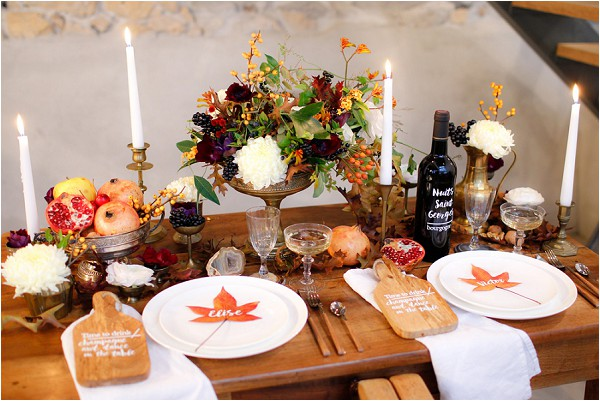 11+ Beautiful Fall Wedding Decoration Ideas With Photos -
