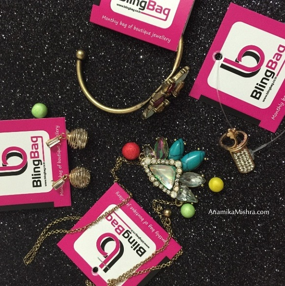 Bling Bag :Monthly Fashion Jewellery Subscription Box - Introduction + Review