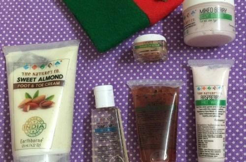 The Nature's Co December Beauty Wish Box - #BeYourOwnSanta