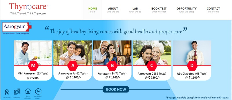 Thyrocare Service Review
