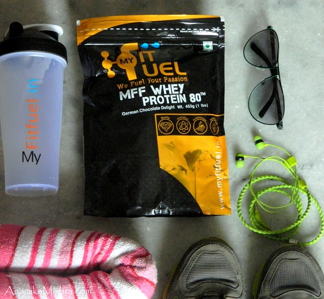 MyFitFuel MFF Whey Protein 80 Review