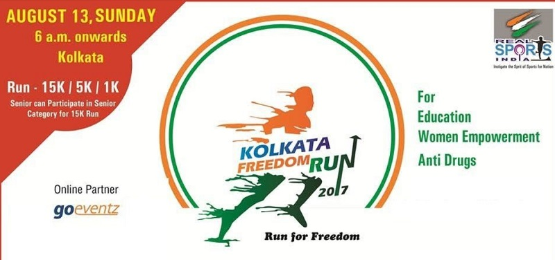 Kolkata Freedom Run 2017 - Run For A Noble Cause