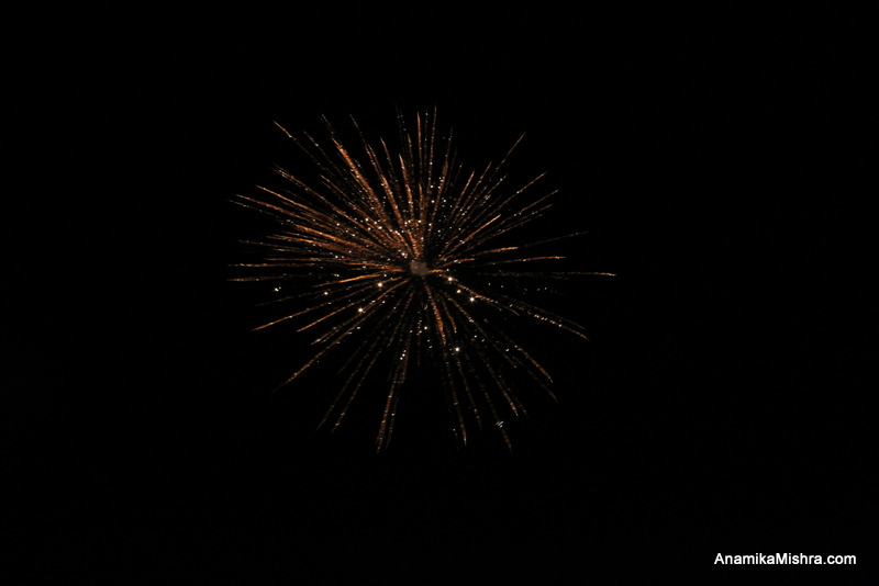 Happy Dussehra - Fireworks Photos I Captured