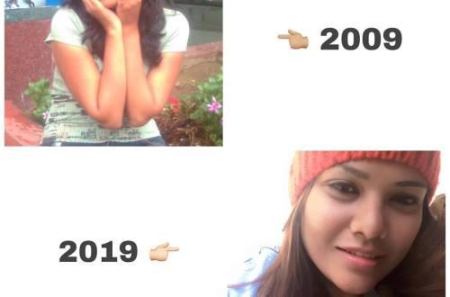 10 years challenge anamika mishra