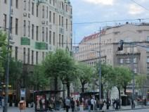 Hotel Moskva (& my bus-stop)