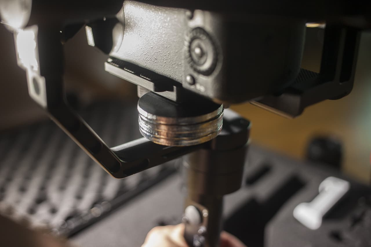 zhiyun crane anamorphic lens gh5 counterweight