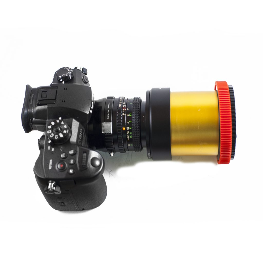 Schneider Anamorphic Lens on Panasonic GH5