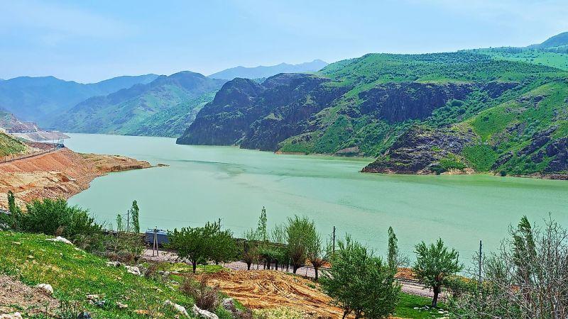أطول الأنهار في دولة أوزبكستان