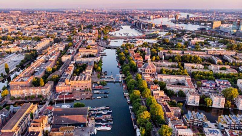 اين تقع مدينة أمستردام