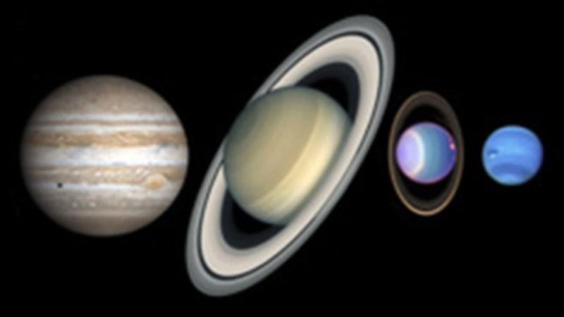 ما هي الكواكب العملاقة