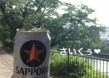 新橋キャバクラ【an_an(アンアン)】100%現役女子大生ラウンジ もも 缶ビール