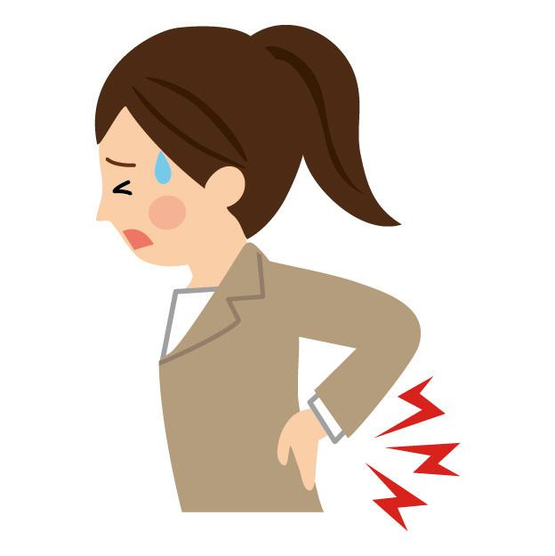 腰痛、腰のトラブルスピリチュアルな意味です。