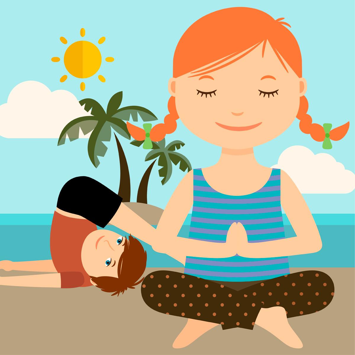 Zen Kids Yoga Camp - Ananda Yoga + Wellness