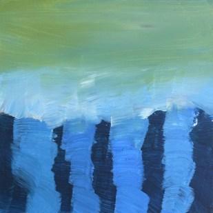 Sea Legs, 2017, 30 x 30 cm, Acrylic on MDF
