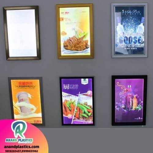 anandplastics, anandplastics.com, backlit board, clip on board, backlight board, led light board, acrylic display board, led clip on board