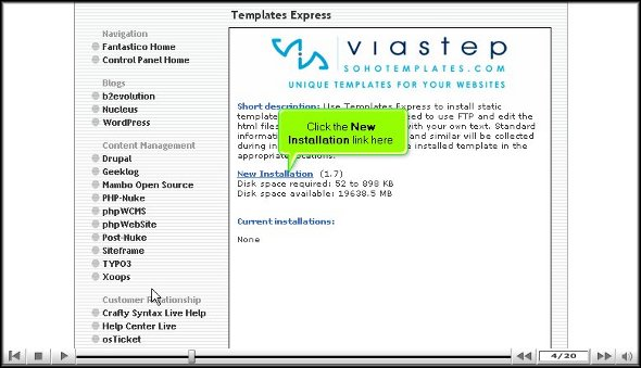 Templates Express
