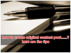 5 Ways to Create Original Content Posts