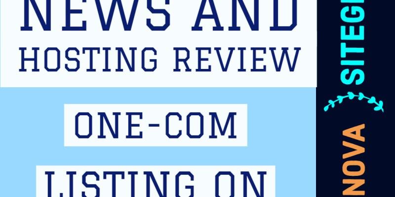 Hosting Review One-Com