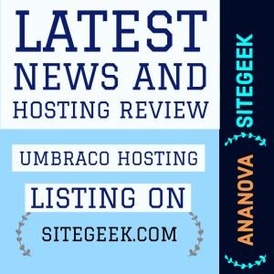 Umbraco Hosting open source content management system