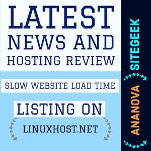 Slow Website Load Time