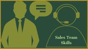 Sales Team Skills