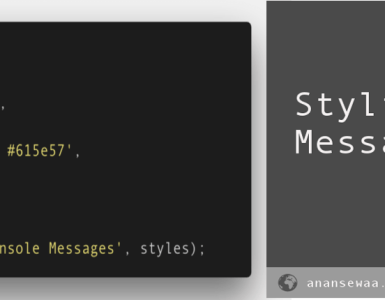 Styling console messages