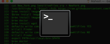 Command Line Tools on MacOS Catalina