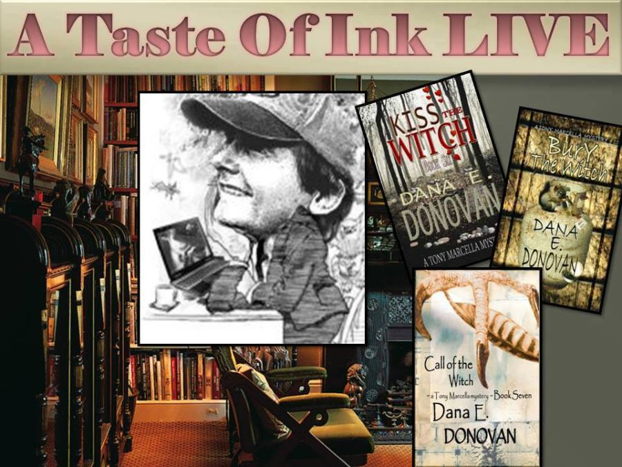 A Taste Of Ink LIVE with Author Dana Donovan