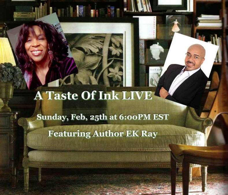 A Taste Of Ink LIVE with E. K. Ray