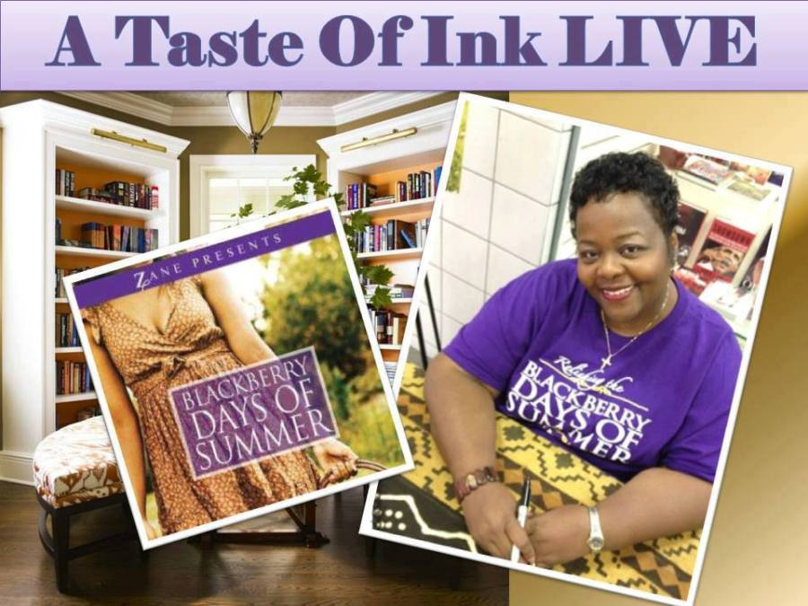 A Taste Of Ink LIVE with Author Ruth Parrish Watson