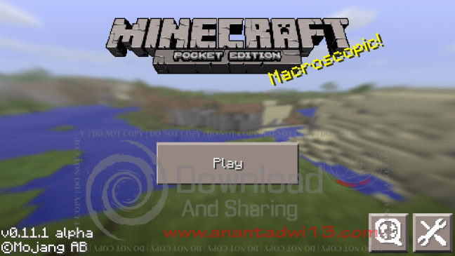 Minecraft Pocket Edition v0.11.1