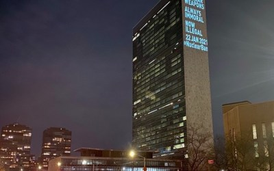 Treaty Seeks End to Nuclear Madness