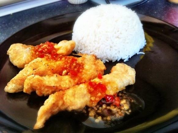 Fried Sweet Chilli Chicken