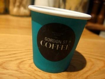 Gordon Street Coffee- Espresso Takeaway